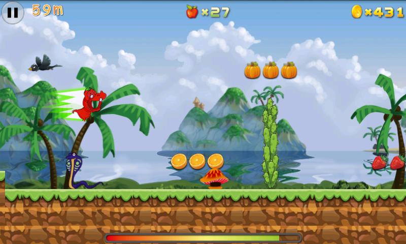Croco Runner - screenshot