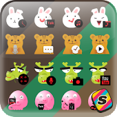 [Shake] Animal Character Icon