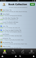 Screenshot of Book Collection + Catalog
