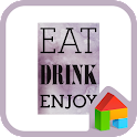 eat drink enjoy dodol theme icon