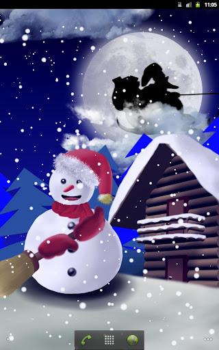 【免費個人化App】Christmas Snowman - Wallpaper-APP點子