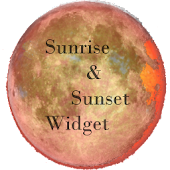Sunrise & sunset widget