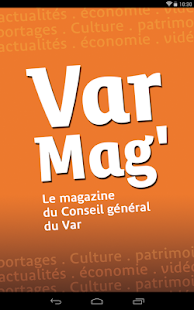 Varmag, magazine du var - CG83- screenshot thumbnail