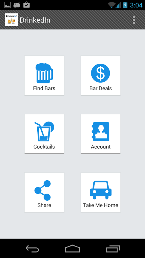 Bars, Cocktails & Deals - screenshot