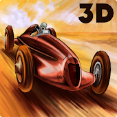 3D Car Racing RETRO - FREE