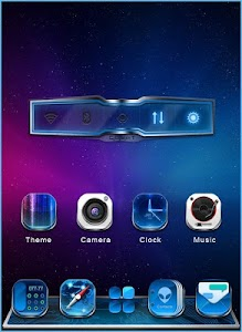 GALAXY COMET 3D LAUNCHER THEME screenshot 3