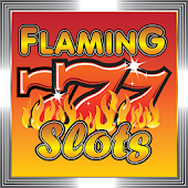 Flaming 7's Slot Machine