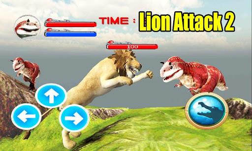 野生獅子攻擊3D模擬器2