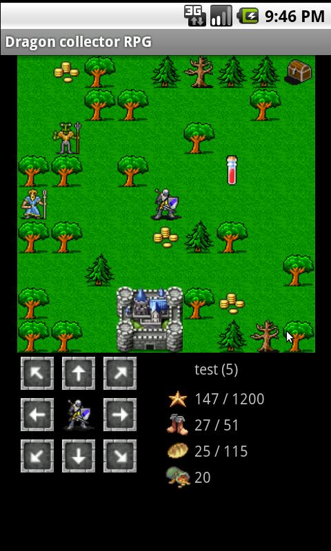 Dragon collector RPG - screenshot