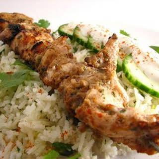 Jamaican Jerked Chicken.