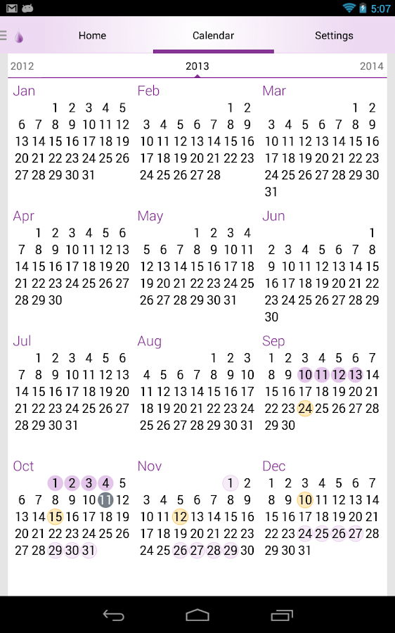Period & Ovulation Tracker - Android Apps on Google Play