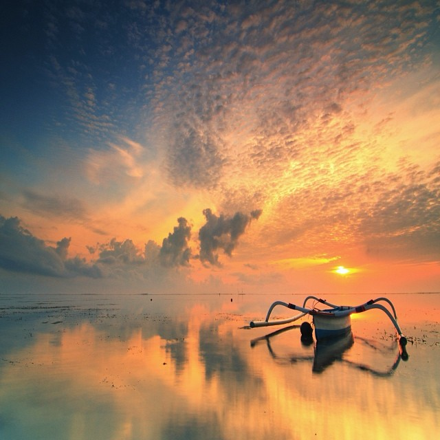 Hellow yellow  by I Made  Sukarnawan - Landscapes Sunsets & Sunrises