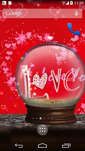 浪漫水晶球壁纸
