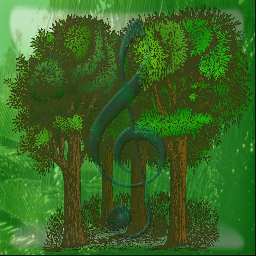 自然森林和叢林聲音 娛樂 App LOGO-APP開箱王