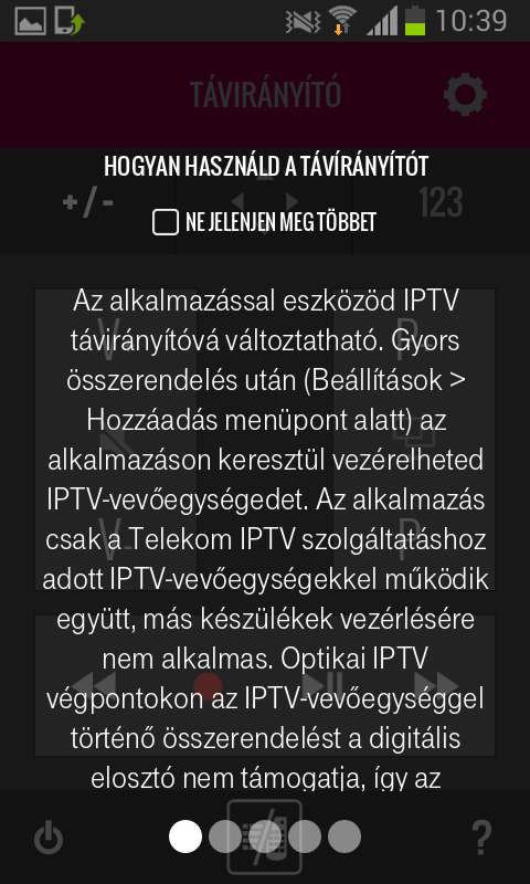 Távirányító - screenshot
