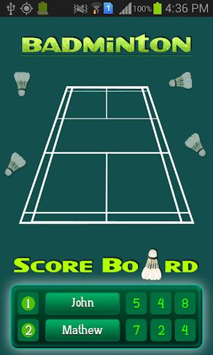 Best Badminton Scoreboard