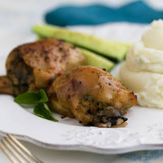 Baked Chicken Thighs With Mushrooms Recipes.
