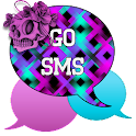 GO SMS - Skull Swirl 2 icon