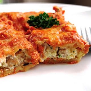 Homemade Italian Manicotti