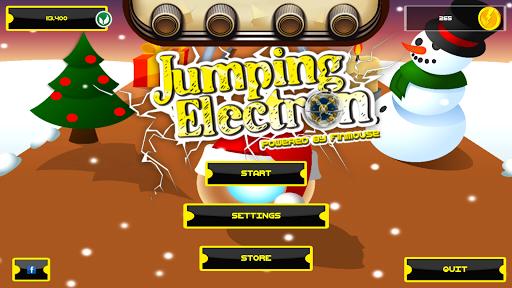 Jumping Electron Christmas