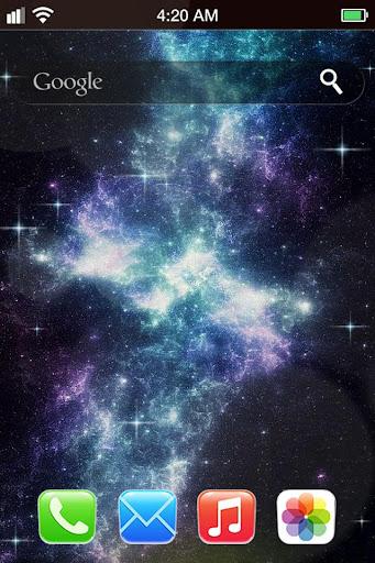 【免費攝影App】星雲iPhone動態壁紙-APP點子