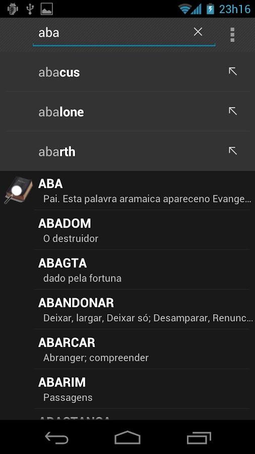 Dicionário Bíblico - BÍBLIA- screenshot