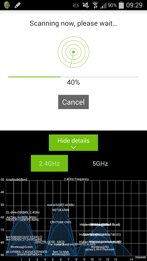 StarHub WiFinder- screenshot