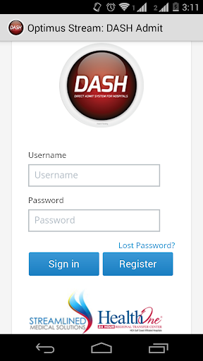 DASH-Direct Admit Sys Hospital