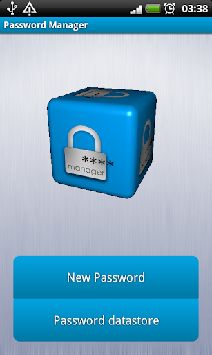 3D Password Manager
