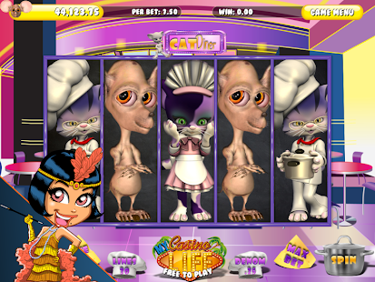 Cats Diner Slot Saga HD