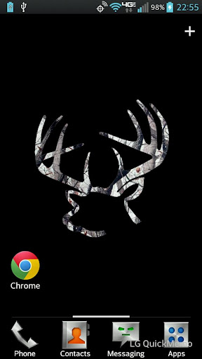 Buck Rack Winter Camo LWP