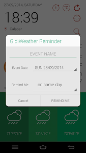 GidiWeather - Flat Weather UI screenshot 2