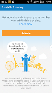 Vonage Mobile® Call Video Text - screenshot thumbnail