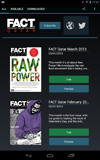 FACT Magazine Qatar Edition
