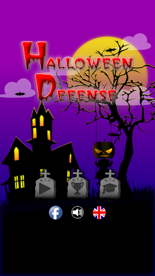 Halloween Defense- screenshot