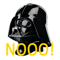 Darth Vader Nooo! Button icon