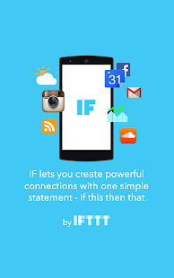 IF by IFTTT - screenshot thumbnail