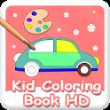 Kid Coloring HD logo
