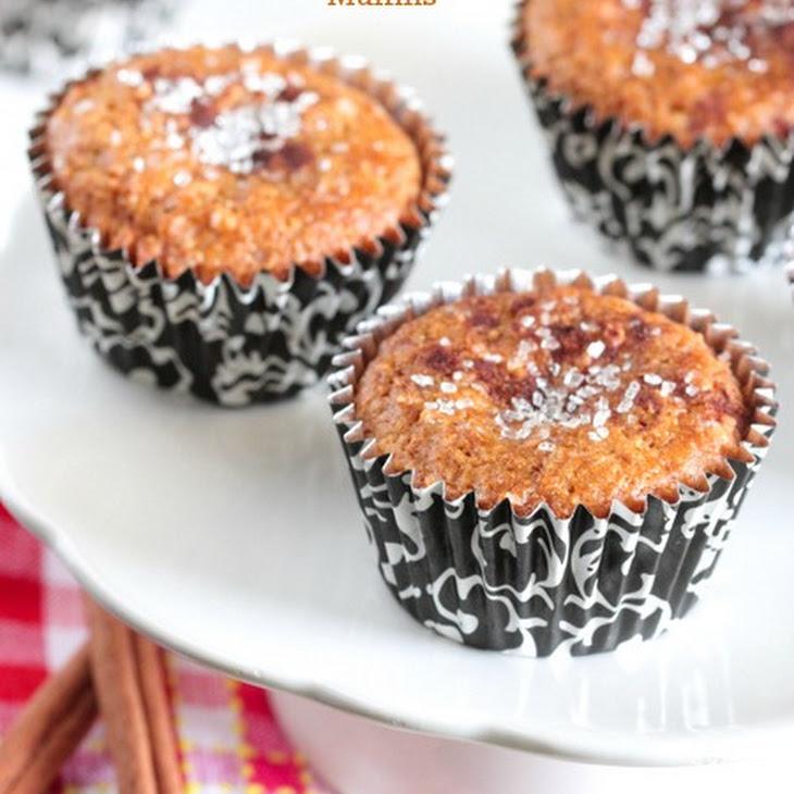 Cinnamon Carrot Cake Muffins Recipe