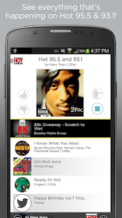 Hot 95.5/93.1- screenshot thumbnail