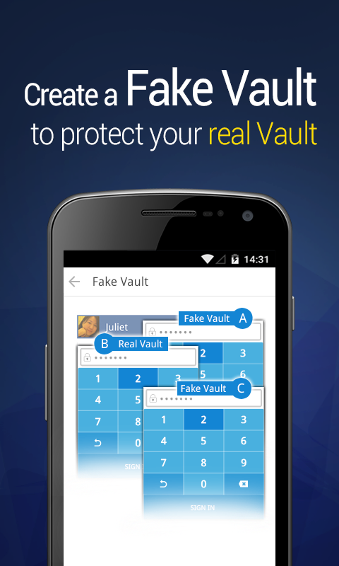 Vault Hide Sms Pics Amp Videos Android Apps On Google Play