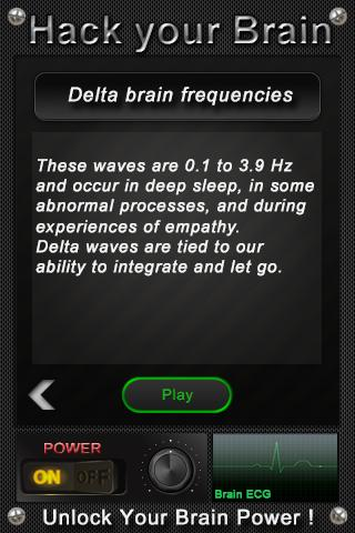 Hack your Brain - screenshot