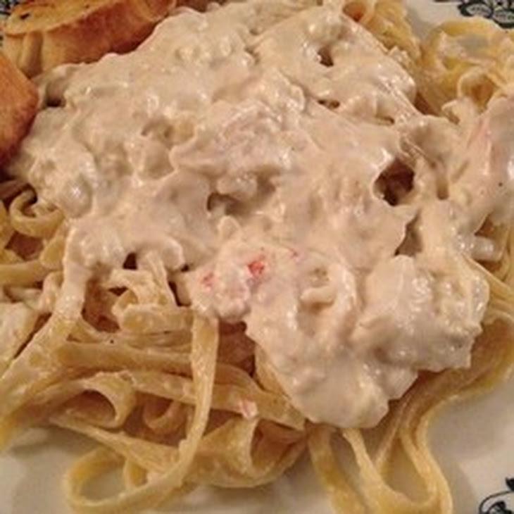 Crab Alfredo Recipe