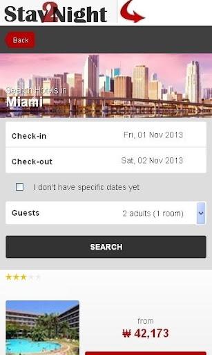 Miami Hotel finder