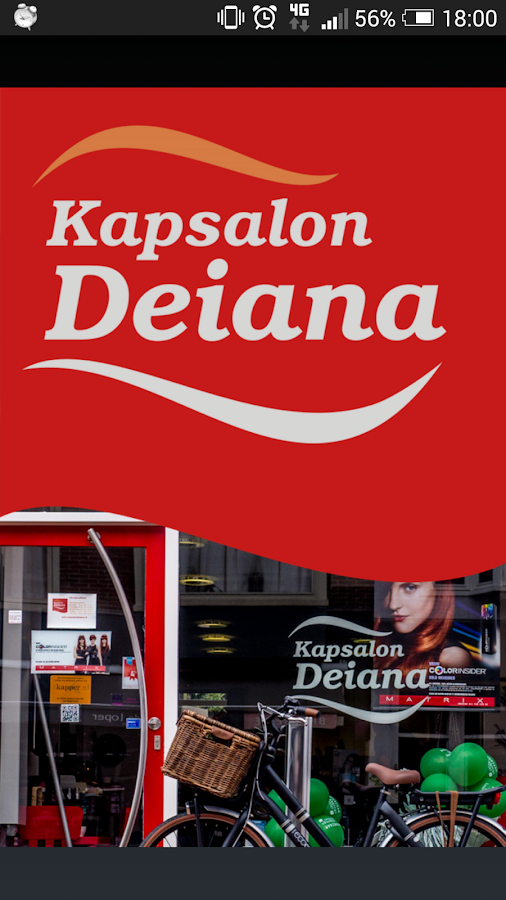 Kapsalon Deiana- screenshot