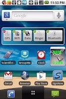 Screenshot of Dashboard