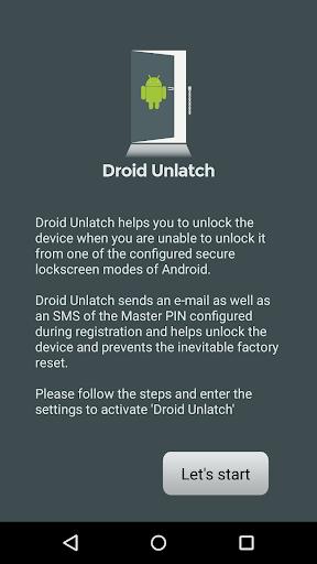Droid Unlatch Forgot Unlock
