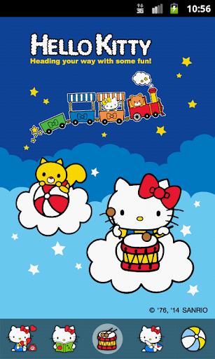 Hello Kitty Having Some Fun