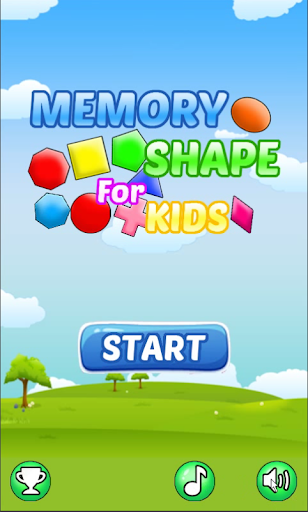 Memory Shape For Kids:FREE