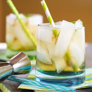 Ginger Whiskey Cocktail.